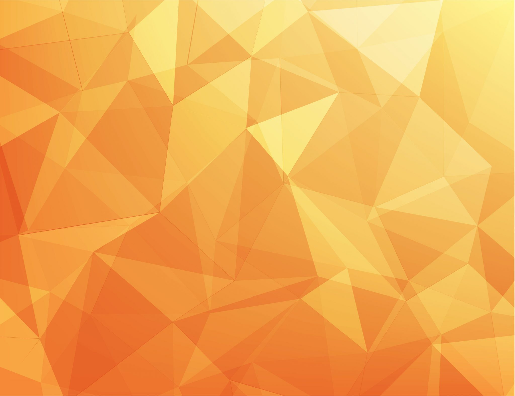 abstract orange triangle design
