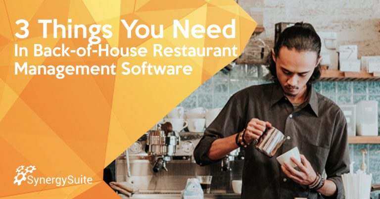 3 Things You Need in Back-of-House Restaurant Software