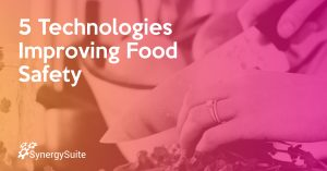 5 Technologies Improving Food Safety blog header image