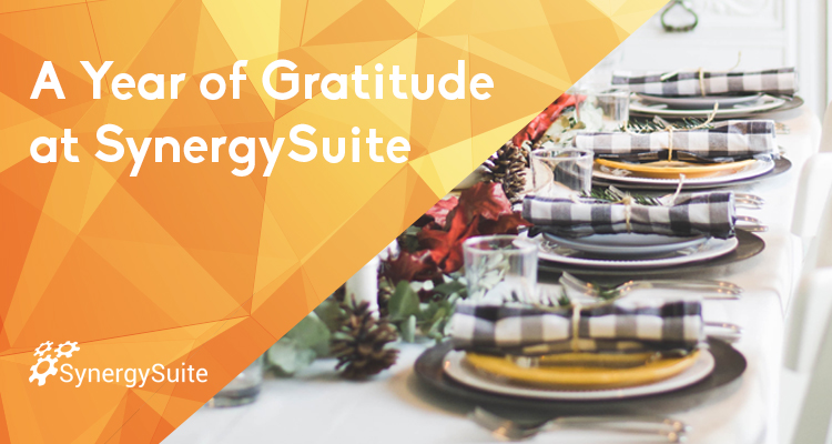 A Year of Gratitude at SynergySuite