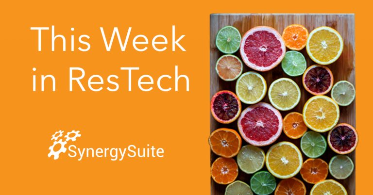 This Week in ResTech: Using Technology to Get a Competitive Edge