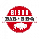 Bison Bar and BBQ logo 200x200