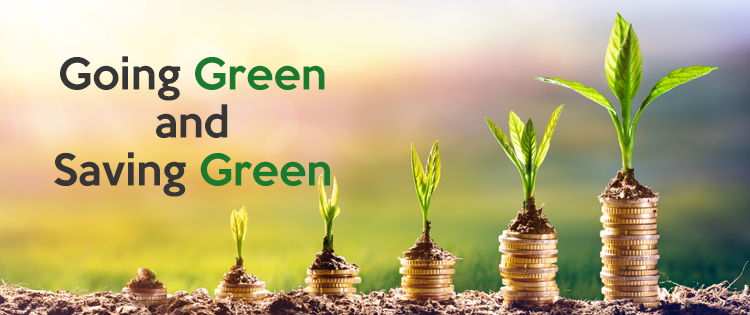 Going Green and Saving Green