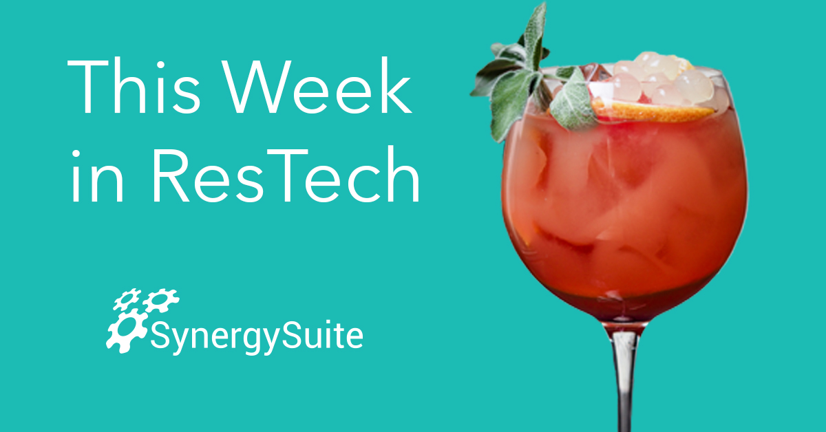 This Week in ResTech: Tech to Go Green
