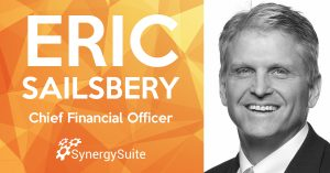 SynergySuite Hires Finance and Ops Leader Eric Sailsbery as CFO