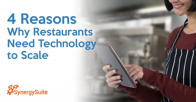 Four Reasons Why Restaurants Need Technology to Scale