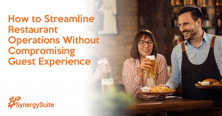 How to Streamline Restaurant Operations Without Compromising Guest Experience