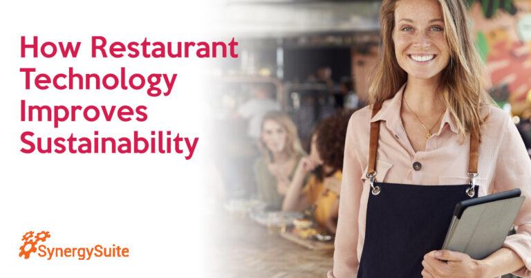 How Restaurant Technology Improves Sustainability