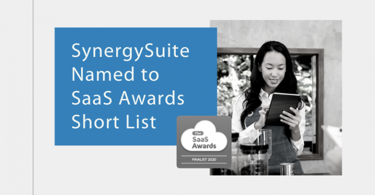 SynergySuite Shortlisted for 2020 SaaS Awards