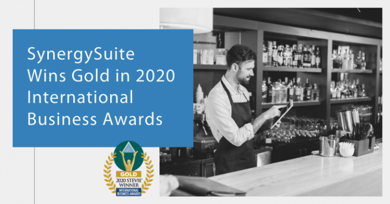 SynergySuite Wins Gold Stevie® Award in 2020 International Business Awards®