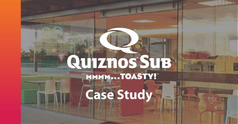 Cover image for SynergySuite Quiznos case study