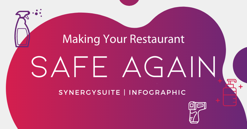 Making Your Restaurants Safe Again Infographic cover image