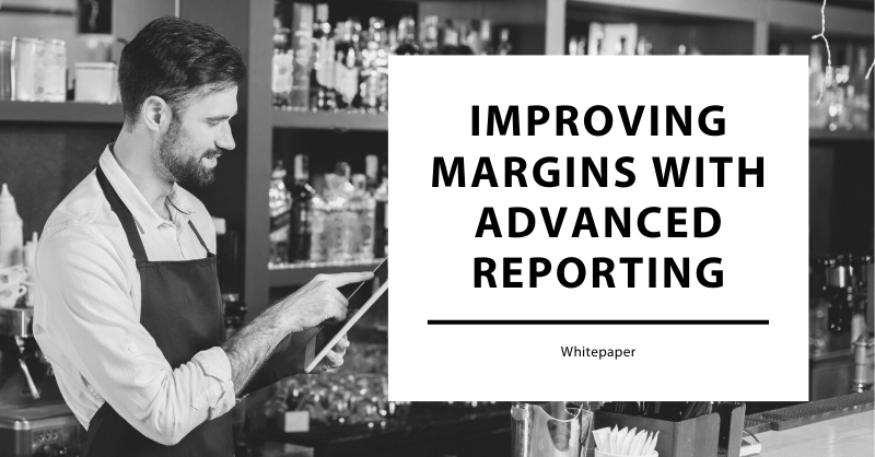 Improving Margins with Advanced Reporting Whitepaper cover image