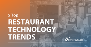 5 Top Restaurant Technology Trends Changing the Industry blog header