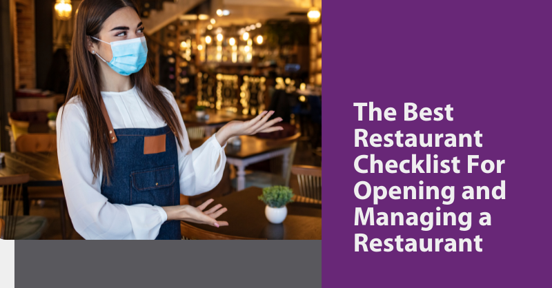 Best Checklist for Opening and Managing a Restaurant blog header